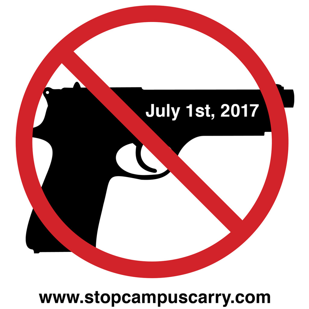 Stop Campus Carry t-shirt